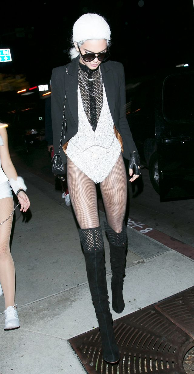 Kendall Jenner Halloween costume