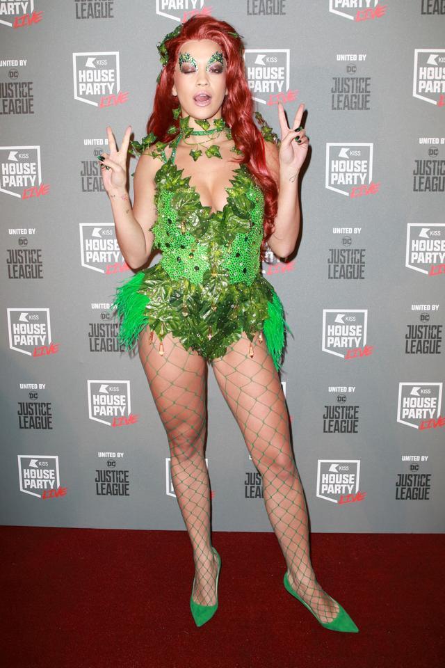 Rita Ora Poison Ivy Halloween costume