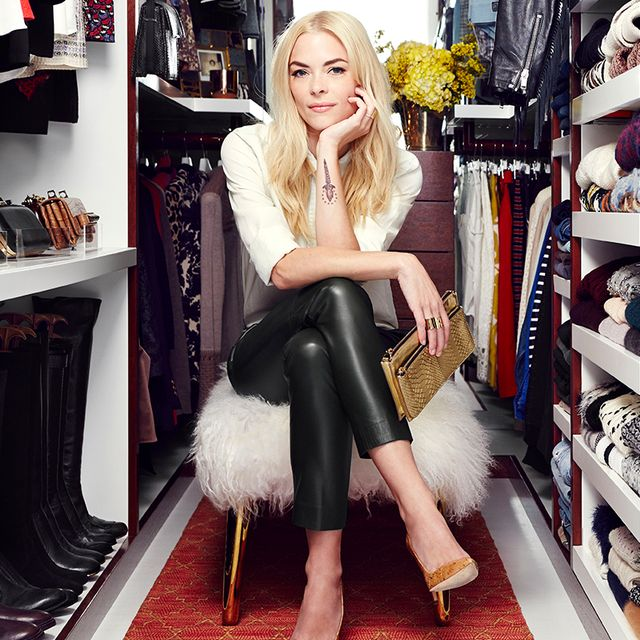 Exclusive: Jaime King Gets a Dream Closet Makeover