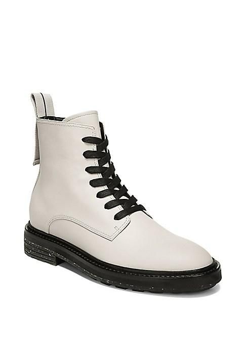 Kinley Leather Combat Boots