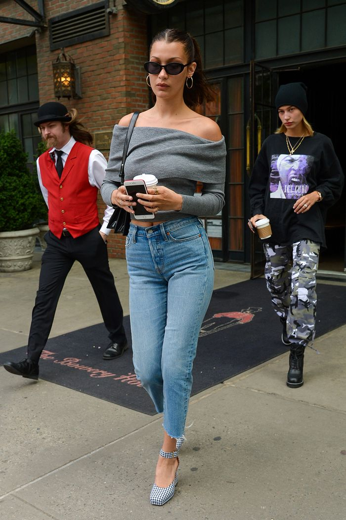 8 Cool Ways To Wear A Cropped Sweater Who What Wear
