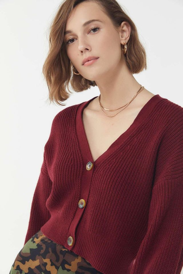 Urban Outfitters UO Kai Cropped Cardigan