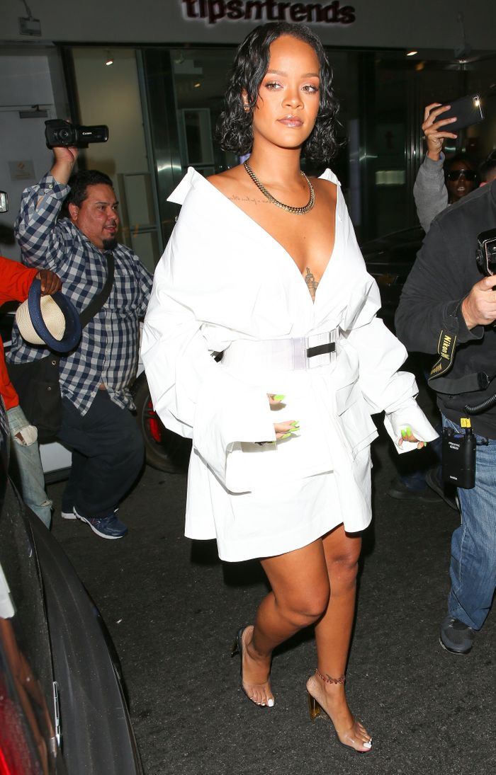 099282138878a The 19 Outfits That Prove Rihanna Is a Style Icon | Who What Wear