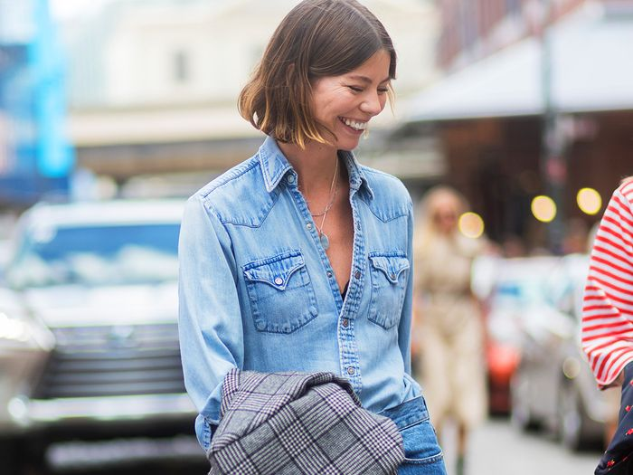 07574c8d7f0 The Best Chambray Shirts for Spring