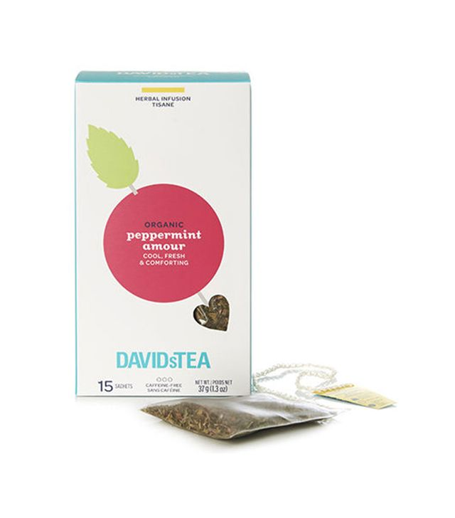 David's Tea Organic Peppermint Amour