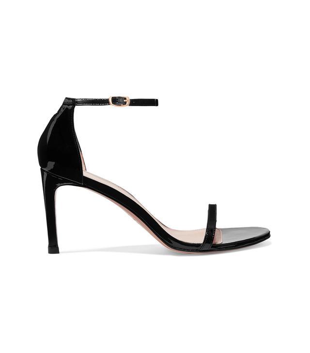 Nudist Patent-leather Sandals