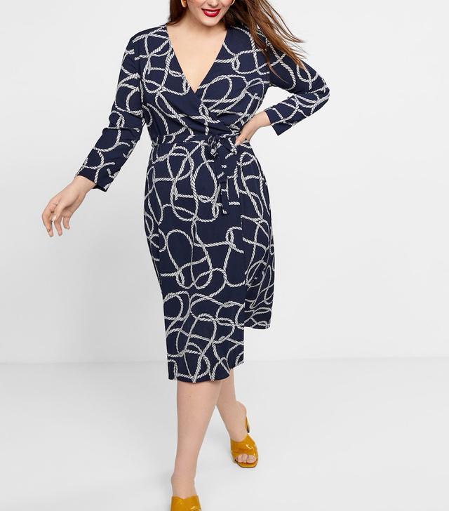 Violeta Knotted Wrap Dress