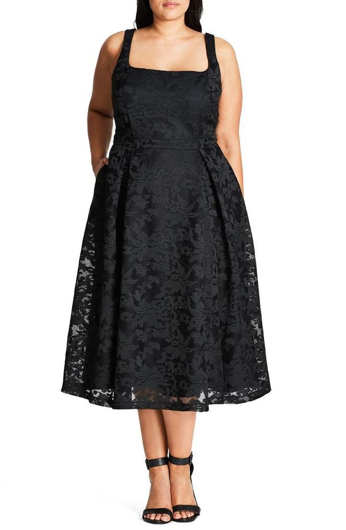17 Black Dresses You Can Wear To A Wedding Who What Wear