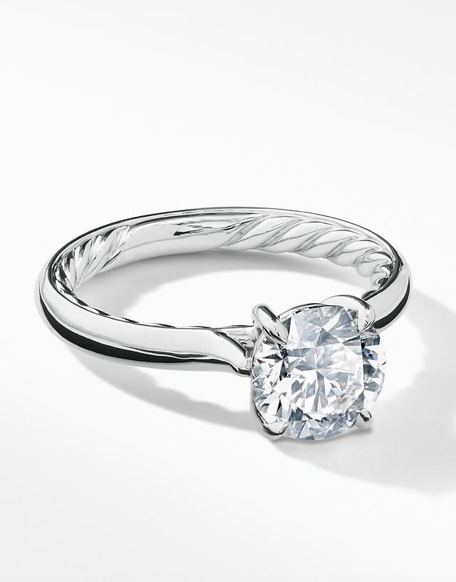 David Yurman DY Eden Solitaire Engagement Ring