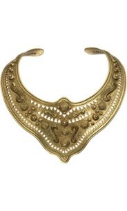 Bidermann  Bidermann Bronze Mharaja Breastplate Necklace