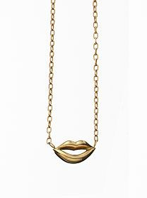 Jennifer Fisher  Mini Lips Necklace