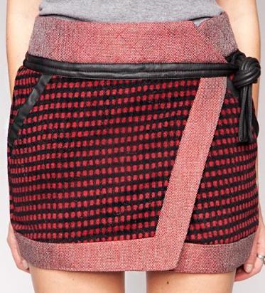Pixie Market  Bitten Skirt