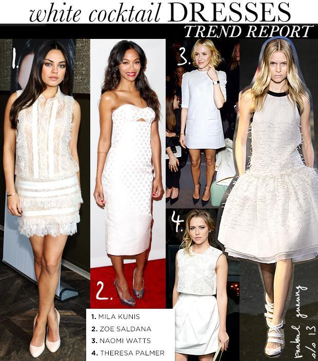 White Cocktail Dresses