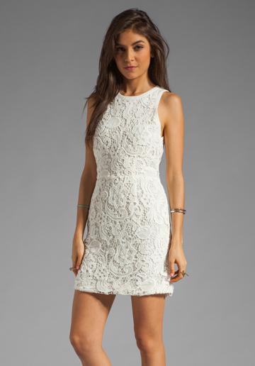 Dolce Vita  Mei Scroll Lace Dress