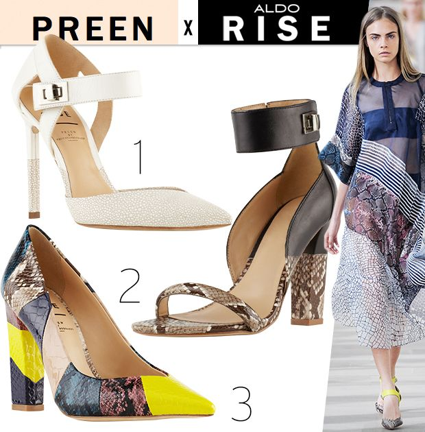 Stylish Shoes From ALDO RISE x Preen's Latest Collaboration