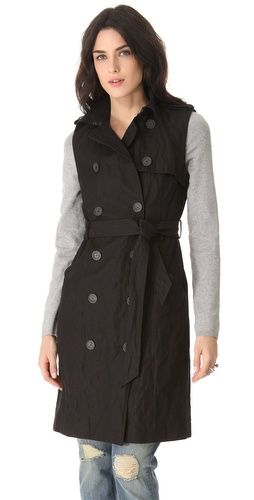Knit Sleeve Trench Coach Gryphon