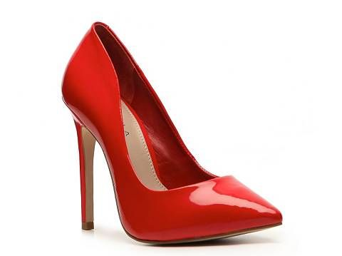 Carvela Kurt Geiger  Attack Patent Pumps