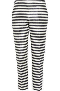 J.Crew Estelle Striped Raffia Pants