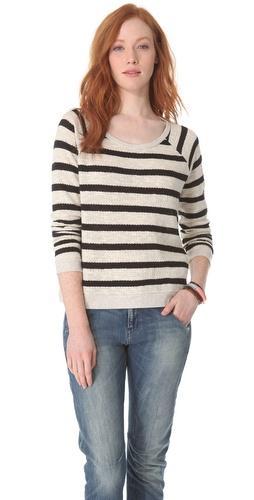 Madewell  Striped Raglan Sweater