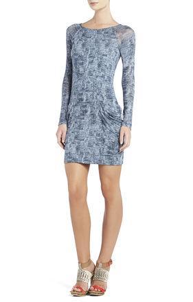 BCBGMaxazria  Crista Raglan-Sleeve Tunic Dress