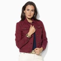 Lauren Jeans Co.  Striped Jean Jacket