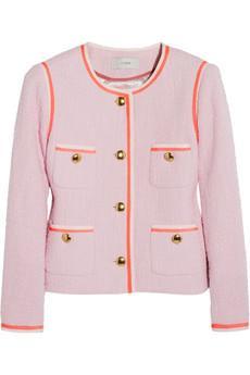J.Crew  Amanda Cotton-Tweed Jacket