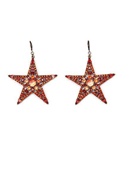 Mango Touch Star Earrings