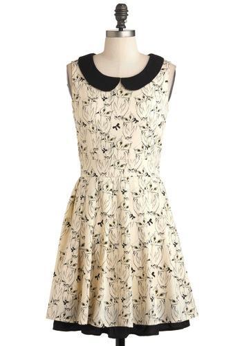 ModCloth  It's Hoot You Know Dress