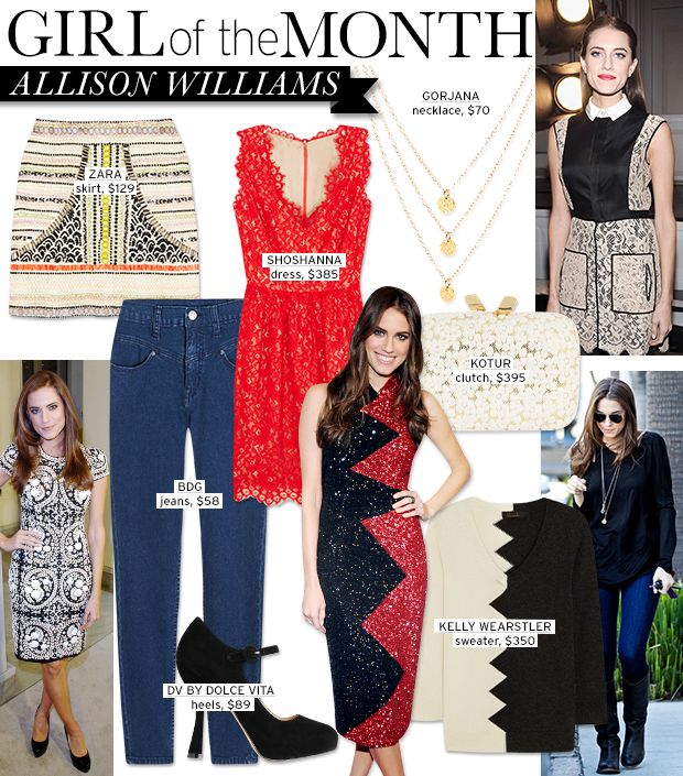 Everything You Need To Get Allison Williams' Chic, Classic Style