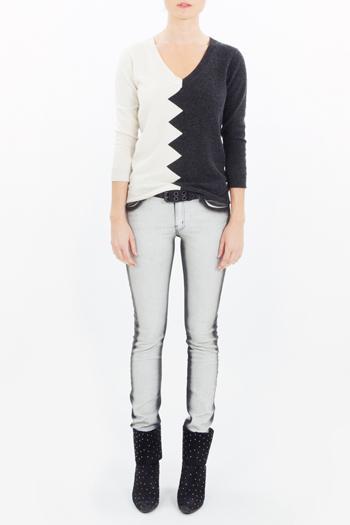 Kelly Wearstler Slither Zig Zag Sweater