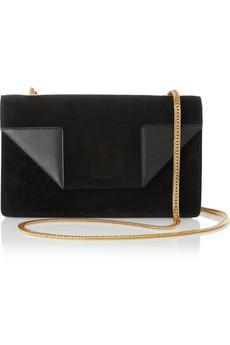 Saint Laurent  Betty Mini Chain Suede Shoulder Bag