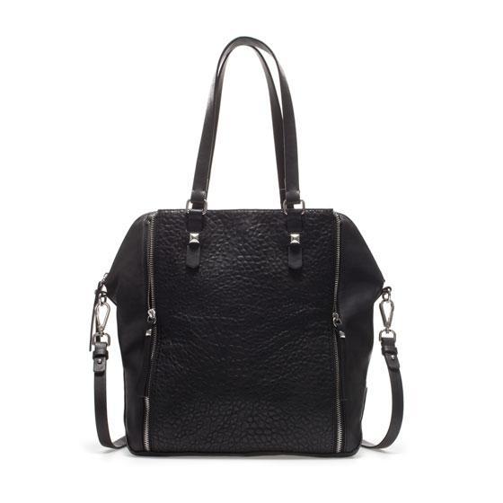 Zara  Shopper with Zips