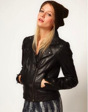 ASOS Leather Biker Jacket