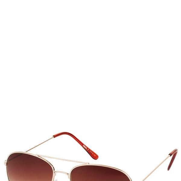 Topshop Metal Aviator Sunglasses