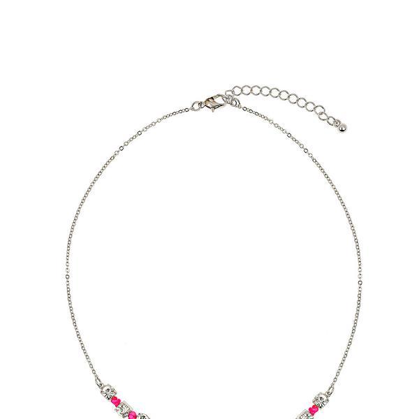 Dorothy Perkins Neon Pink Thread Wrap Necklace