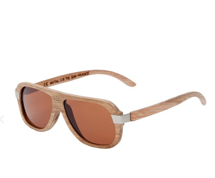 Waiting For The Sun Wood Sunglasses