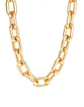 ASOS Open Link Chain Collar Necklace