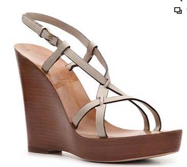 Bally Manako Leather Wedge Sandals