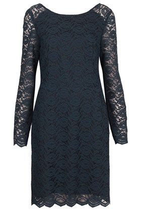 Topshop  Lace Loop Back Dress