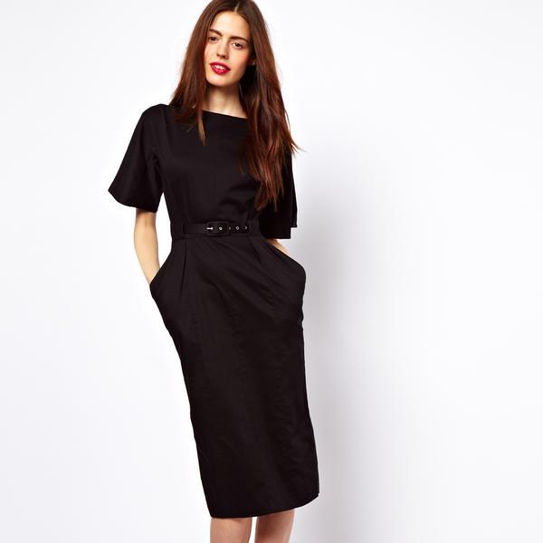 ASOS  Wiggle Dress with Belt
