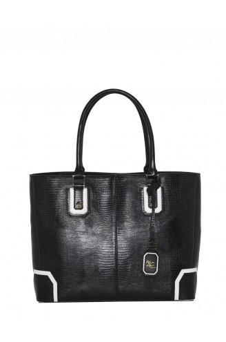 Alice + Olivia  Lizard Embossed Leather Bag