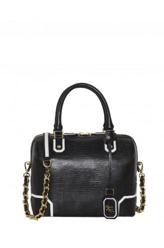 Alice + Olivia  Lizard Embossed Leather D Bag