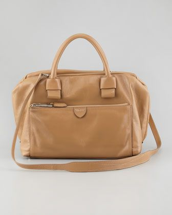 Marc Jacobs  Antonia Small Leather Satchel Bag