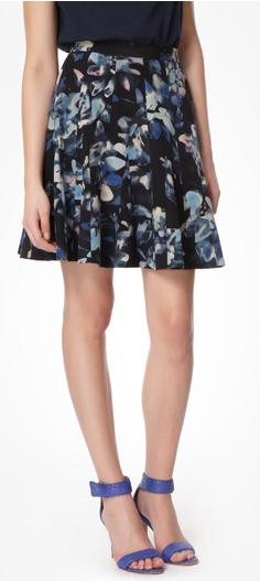 Rebecca Taylor Hawaii Godet Skirt