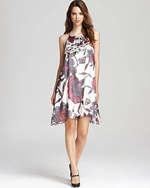 KAS New York  Adana Printed Halter Dress