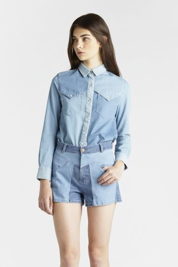 Surface to Air  Ami Denim Shirt
