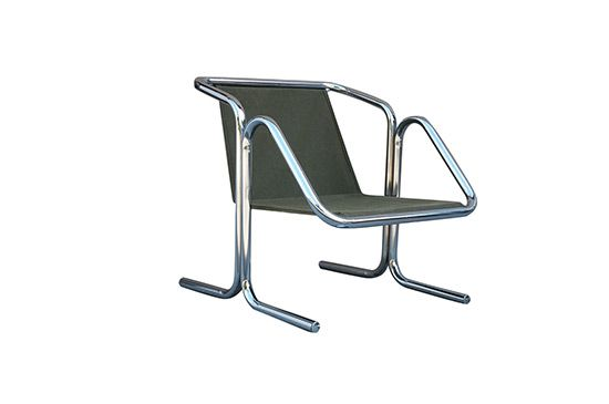 1st Dibs Sling Chair by Jerry Johnson