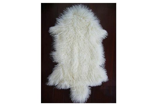 Curly Fur Tibetan Lamb Pelt