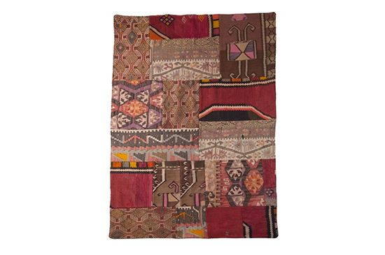 The Loaded Trunk Patchwork Kilim Rug