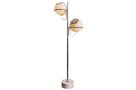 1stdibs Reggiani Globe Floor Lamp